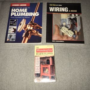 DIY Books Electrical and Plumbing $5 for all for Sale in Port St. Lucie, FL