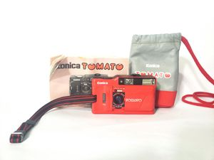 Konica TOMATO RED Point & Shoot 35mm F/4 Film Camera from Japan #359 for Sale in Houston, TX