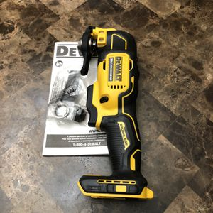 DeWalt ATOMIC 20-Volt MAX Lithium-Ion Brushless Cordless Oscillating Tool (Tool-Only) for Sale in Portland, OR