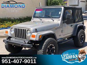 2002 Jeep Wrangler for Sale in Corona, CA