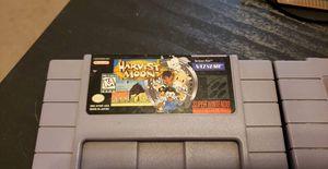 Harvest Moon SNES for Sale in Henderson, NV
