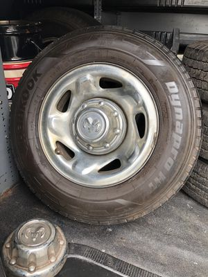 Dodge Ram Van wheels set (4) with LT 225/75/16 tires for Sale in Somerset, NJ