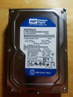 WD3200AAJS 320GB HDD for Sale in Vestal, NY