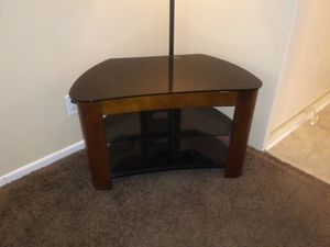 Wood and glass entertainment center for Sale in Temecula, CA