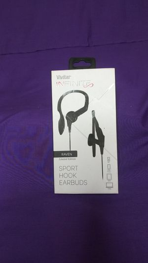 Vivitar Infinite Sport Hook Earbuds for Sale in Redford Charter Township, MI