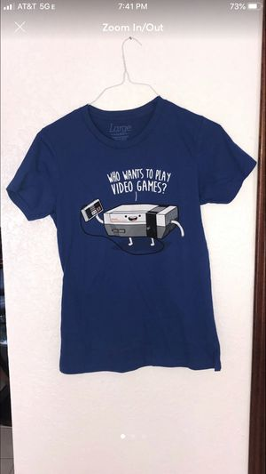 Ladies Large Nesmo Video Game Shirt for Sale in Davie, FL