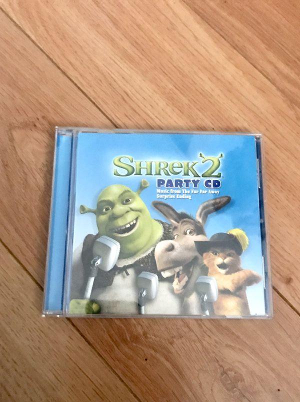 Shrek 2 Music Party CD-12 songs(6 audio tracks/6 karaoke tracks)