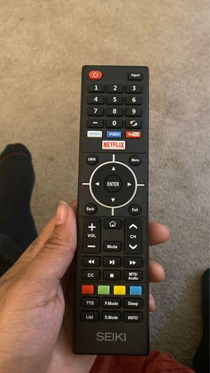 50 inch Seiki brand 4K Smart TV for Sale in Tempe, AZ