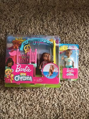Barbie club Chelsea swing set and doll. for Sale in Port St. Lucie, FL