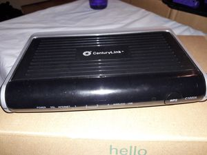 CenturyLink DSL WiFi Modem Router Unlocked for Sale in Mesa, AZ