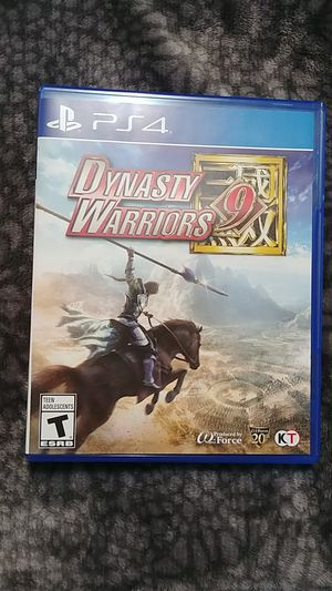 Dynasty Warriors 9 PS4 for Sale in Hanna City, IL