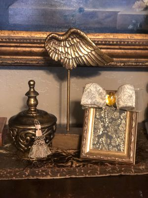 Angel wings and decorative items for Sale in Fort Worth, TX