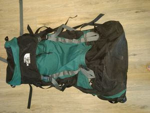 North face external frame hiking climbing backpack size m/l for Sale in Scottsdale, AZ