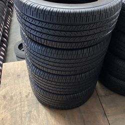 4 Used 265-60-17 GOODYEAR EAGLE RS-A for Sale in Sugar Land,  TX