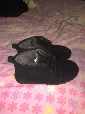 selling black uggs size 9 for Sale in Boston, MA