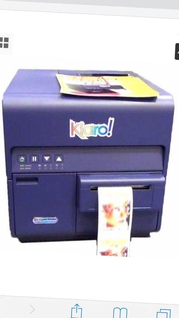 Kiaro Full Color Custom Label Printer for Sale in Seattle, WA - OfferUp