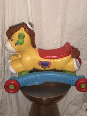 Kids Horse rocker w/ wheels for Sale in Columbia, SC