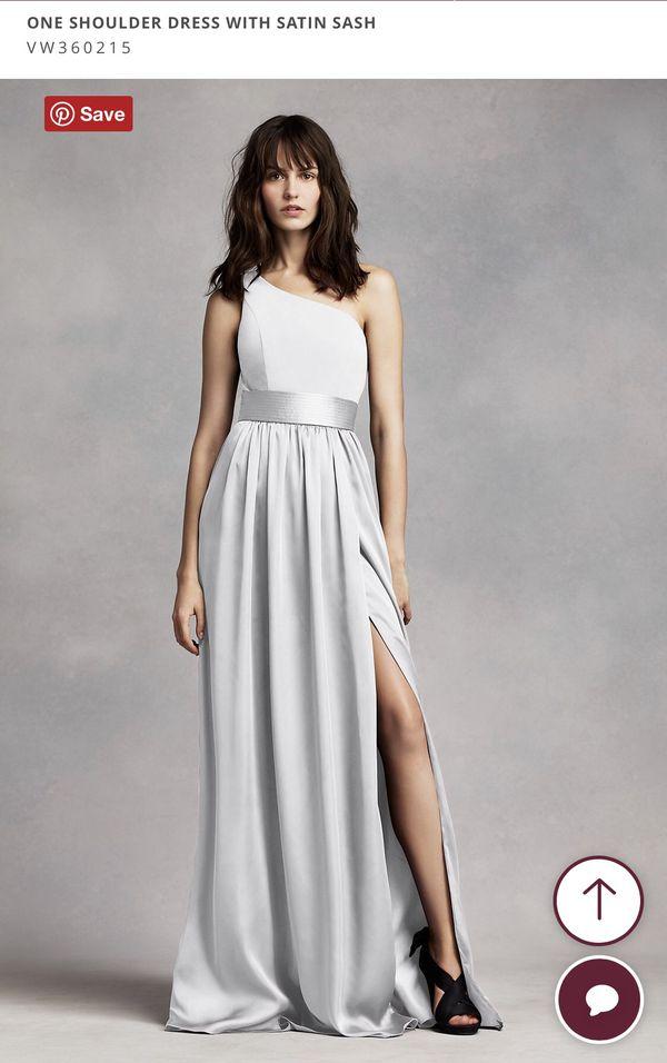 Plus Size Bridesmaid Dress: WHITE by Vera Wang