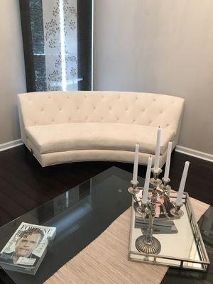 ZGallerie armless accent sofa for Sale in Atlanta, GA