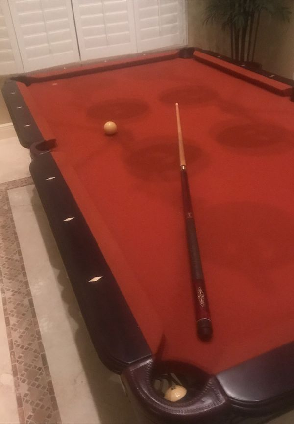 Pool Table, House Forclosure, need money for attorneys. Reduced for quick cash sale by 10/22 for $6000 cash.