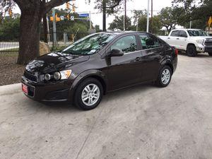 2015 Chevy Sonic LT for Sale in San Antonio, TX