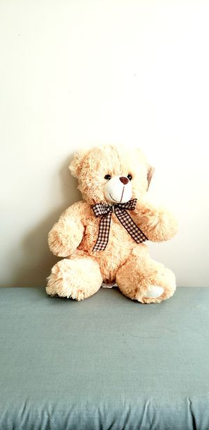 Cream/ Ivory Plush Teddy Bear for Sale in Chicago, IL