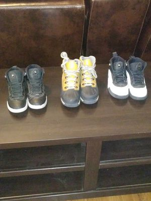 Jordans & Timberland Boots Size 2 1/2 for Sale in Grand Prairie, TX