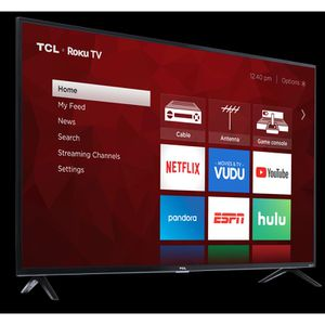 TCL 65 INCH 4K ROKU TV MINT CONDITION for Sale in Fort Lauderdale, FL