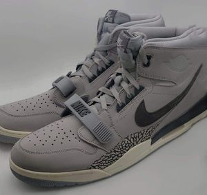 Nike Men Air Jordan Legacy 312 Basketball Shoes Size 18 Wolf Grey for Sale in Commerce City, CO