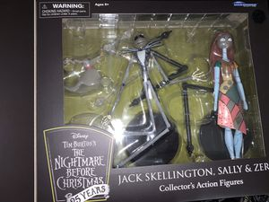 Nightmare Before Christmas 25 Years Collectors Action Figures for Sale in Goodlettsville, TN