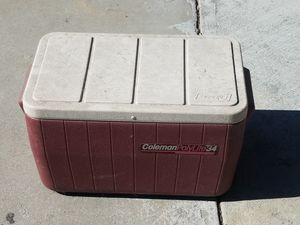 Coleman cooler for Sale in Lynwood, CA