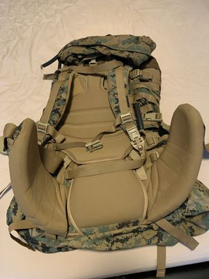 New Usmc Gen 2 Marpat Tan Woodland Ilbe Main Pack with Lid Belt Complete Arcyteryx for Sale in Everett, WA