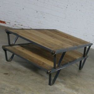 Barrett Cravens antique industrial pallette table for Sale in Waveland, IN