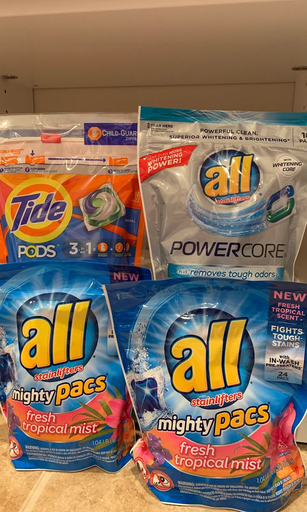 All/Tide laundry pods set — ON HOLD