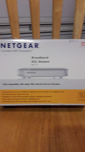 DSL Modem netgear for Sale in Anaheim, CA