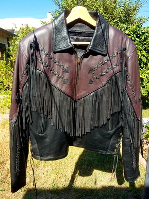 CHROME GEAR Womens Fringe Motorcycle Jacket for Sale in Glendale, CA