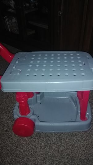 Toddler boy play tool cart for Sale in ELEVEN MILE, AZ