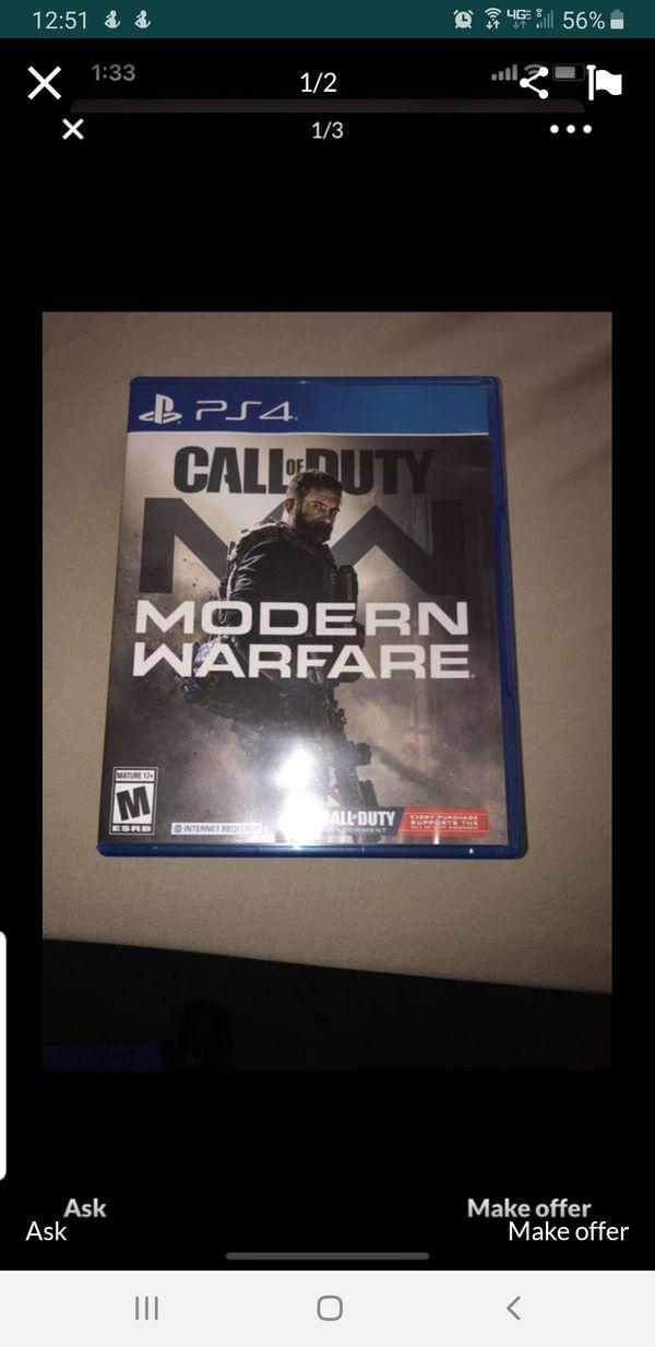 Call of Duty. Modern Warfare