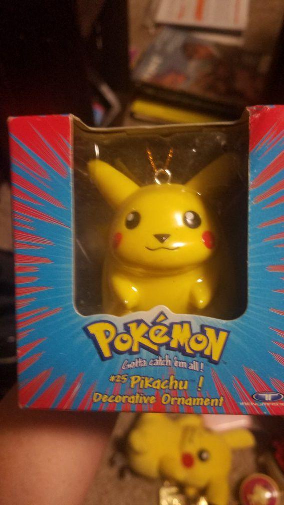 1999 Pikachu Ornament