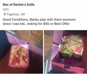 Barbie Dolls for Sale in Tigerton, WI