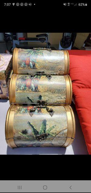 Beautiful wooden keepsake boxes for Sale in Davenport, FL