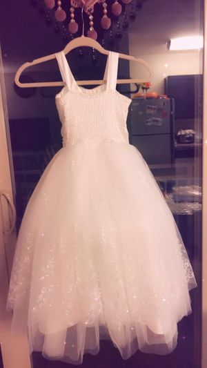 Kids wedding dress it's new for Sale in Falls Church, VA