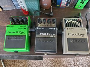 Boss guitar effect pedals for Sale in Kennewick, WA