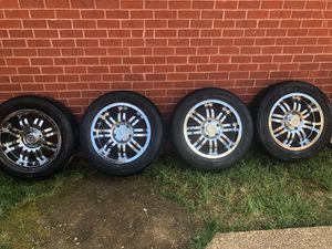 Tires and rims set of 4 for Sale in Hendersonville, TN