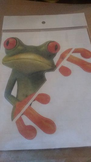 Frog decal for computer /car/ wall for Sale in Glasgow, KY
