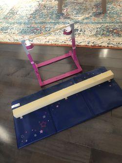 American Girl Gymnastic Set for Sale in Attleboro,  MA