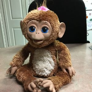 HasBro FurReal Friends Cuddles My Giggly Monkey Interactivite Toy. Made In 2012. for Sale in Lampasas, TX