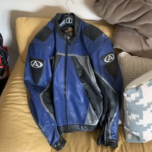 AVG Sport Padded Leather Motorcycle Jacket for Sale in Fort Lauderdale, FL