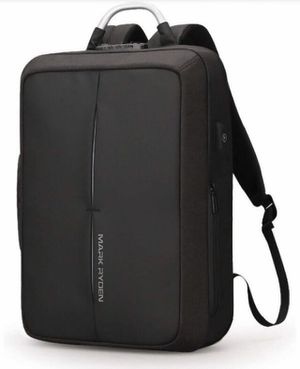 Brand new Laptop Backpack Casual School Business Travel School Book Computer Bags with Numeric Lock USB Charging Port Daypack Water Resistant Backpac for Sale in Las Vegas, NV
