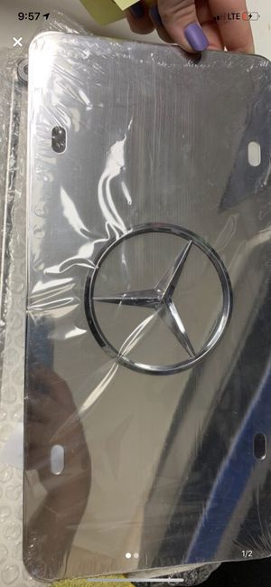 Mercedes front tag for Sale in Dunwoody, GA